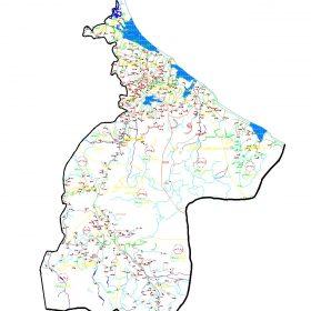 دانلود نقشه اتوکدی شهرستان رودسر - استان گیلان