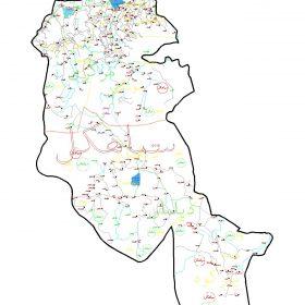 دانلود نقشه اتوکدی شهرستان سیاهکل - استان گیلان
