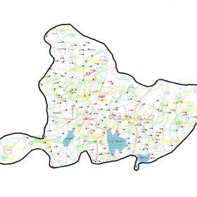 دانلود نقشه اتوکدی شهرستان صومعه سرا - استان گیلان