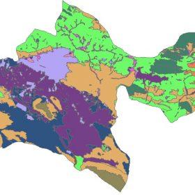 دانلود شیپ فایل GIS کاربری اراضی استان تهران