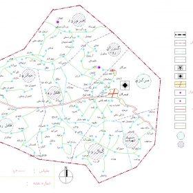 دانلود نقشه اتوکدی شهرستان تویسرکان - استان همدان