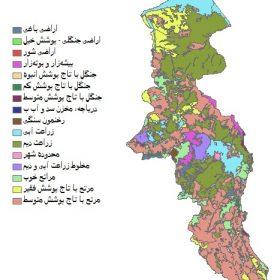دانلود شیپ فایل GIS کاربری اراضی استان اردبیل