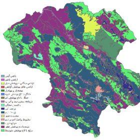 دانلود شیپ فایل GIS کاربری اراضی استان زنجان