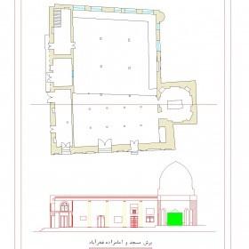 دانلود نقشه اتوکدی امامزاده و مسجد سید سلیمان فخرآباد مشگین شهر-اردبیل