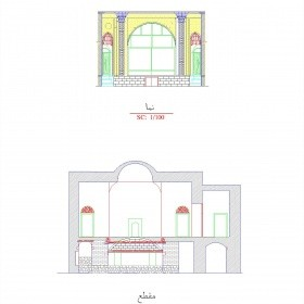 دانلود نقشه اتوکدی خانه تاریخی ارشادی اردبیل