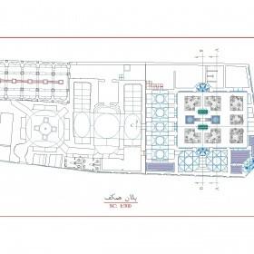 دانلود نقشه اتوکدی حمام تاریخی ابراهیم آباد اردبیل
