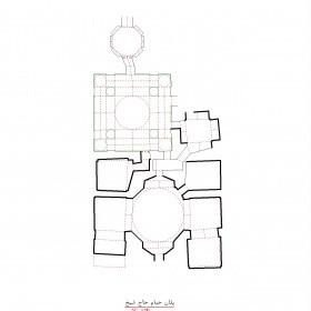 دانلود نقشه اتوکدی حمام تاریخی حاج شیخ اردبیل