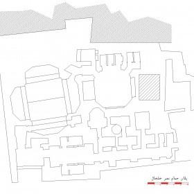 دانلود نقشه اتوکدی حمام تاریخی نصر خلخال - اردبیل
