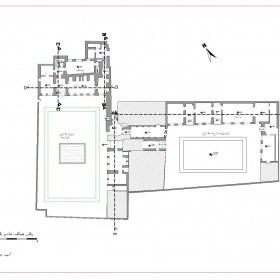 دانلود نقشه اتوکدی خانه تاریخی خادم باشی اردبیل