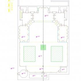 دانلود نقشه اتوکدی خانه تاریخی خلیل زاده (مروج) اردبیل
