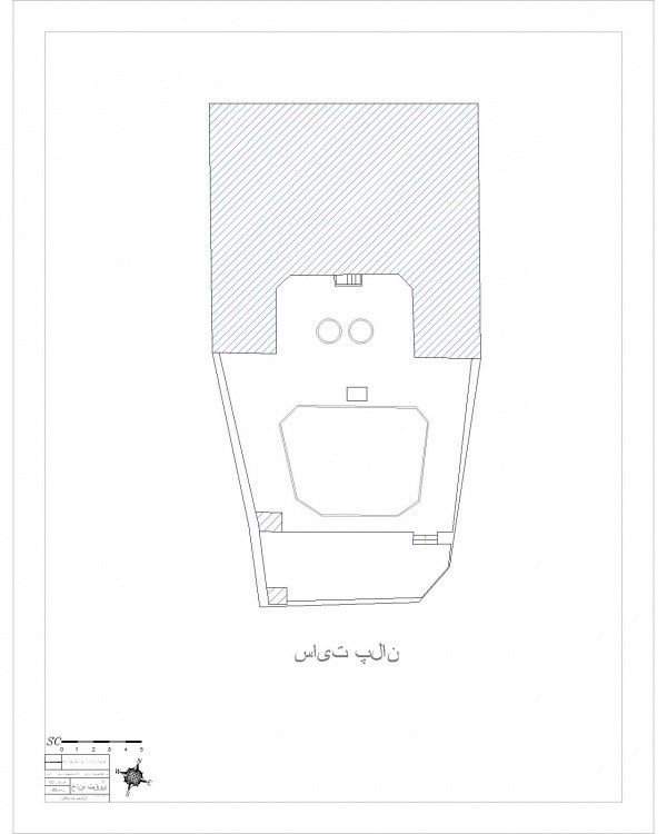 دانلود نقشه اتوکدی خانه تاریخی تقوی اردبیل