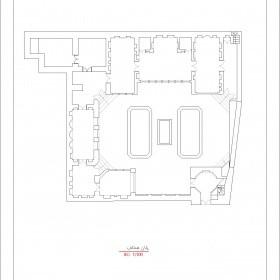 دانلود نقشه اتوکدی خانه تاریخی میرفتاحی اردبیل