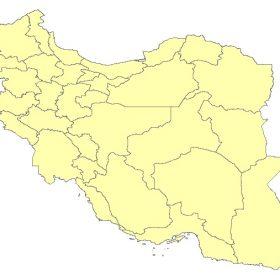 دانلود شیپ فایل GIS استان های کل کشور