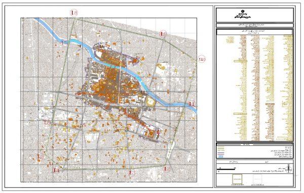 دانلود لیست و موقعیت بناها و خانه های قدیمی ثبت شده تبریز