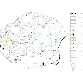 دانلود نقشه اتوکدی شهرستان همدان - استان همدان