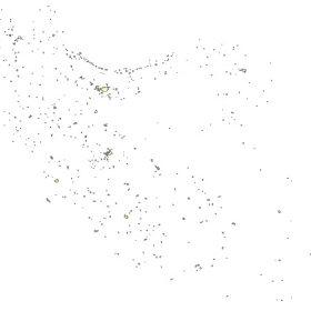 دانلود شیپ فایل GIS شهرهای کل کشور به صورت پلیگون