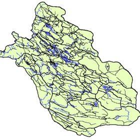 دانلود شیپ فایل GIS عوارض طبیعی و مصنوع استان فارس