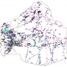دانلود نقشه اتوکدی شهرستان عنبرآباد - استانکرمان