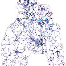 دانلود نقشه اتوکدی شهرستان بافت - استانکرمان