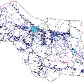 دانلود نقشه اتوکدی شهرستان بردسیر - استانکرمان
