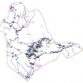 دانلود نقشه اتوکدی شهرستان فاریاب - استانکرمان