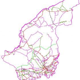 دانلود نقشه اتوکدی شهرستان گنبد کاووس - استان گلستان
