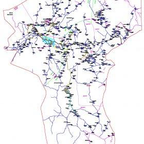 دانلود نقشه اتوکدی شهرستان رابر - استانکرمان