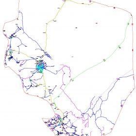 دانلود نقشه اتوکدی شهرستان راور - استان کرمان