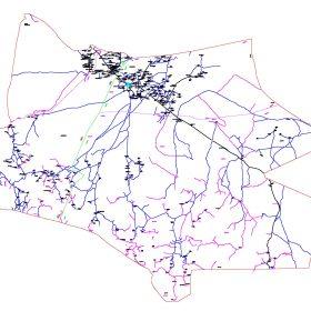 دانلود نقشه اتوکدی شهرستان ریگان - استانکرمان