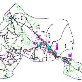 دانلود نقشه اتوکدی شهرستان آباده - استان فارس