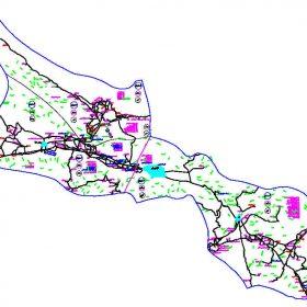 دانلود نقشه اتوکدی شهرستان استهبان - استان فارس