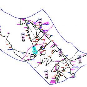 دانلود نقشه اتوکدی شهرستان کوار - استان فارس