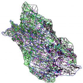 دانلود نقشه اتوکدی استان فارس - کلیه شهرستانها