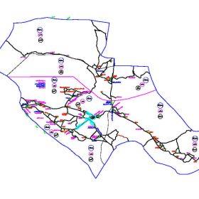 دانلود نقشه اتوکدی شهرستان پاسارگاد - استان فارس