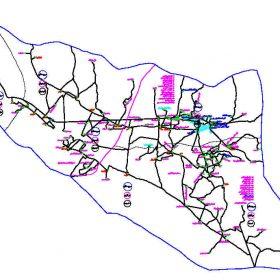 دانلود نقشه اتوکدی شهرستان سروستان - استان فارس