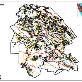 دانلود نقشه اتوکدی ساماندهی فضاهای روستایی استان خوزستان