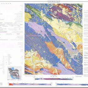 دانلود نقشه زمین شناسی منطقه آق دربند - خراسان رضوی