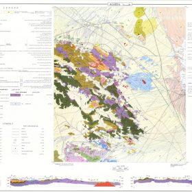 دانلود نقشه زمین شناسی منطقه عقدا - یزد