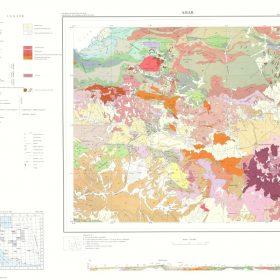 دانلود نقشه زمین شناسی منطقه اهر - آذربایجان شرقی