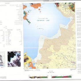 دانلود نقشه زمین شناسی منطقه عجب شیر - آذربایجان شرقی