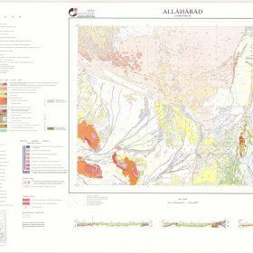 دانلود نقشه زمین شناسی منطقه الله آباد - سیستان و بلوچستان