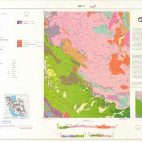 دانلود نقشه زمین شناسی منطقه آلوت - کردستان