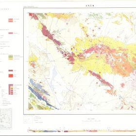 دانلود نقشه زمین شناسی منطقه انار - کرمان