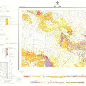 دانلود نقشه زمین شناسی منطقه انارک - اصفهان
