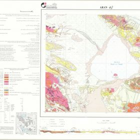 دانلود نقشه زمین شناسی منطقه آران - اصفهان