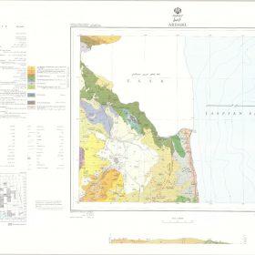 دانلود نقشه زمین شناسی منطقه اردبیل