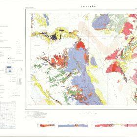 دانلود نقشه زمین شناسی منطقه اردکان - یزد