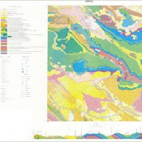 دانلود نقشه زمین شناسی منطقه اردل - چهارمحال و بختیاری