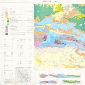 دانلود نقشه زمین شناسی منطقه بجنورد - خراسان شمالی