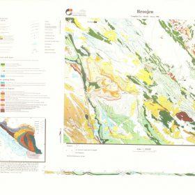 دانلود نقشه زمین شناسی منطقه بروجن - چهارمحال و بختیاری